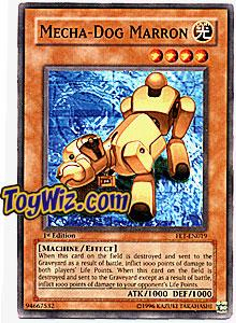 YuGiOh Flaming Eternity Common Mecha - Dog Marron FET-EN019