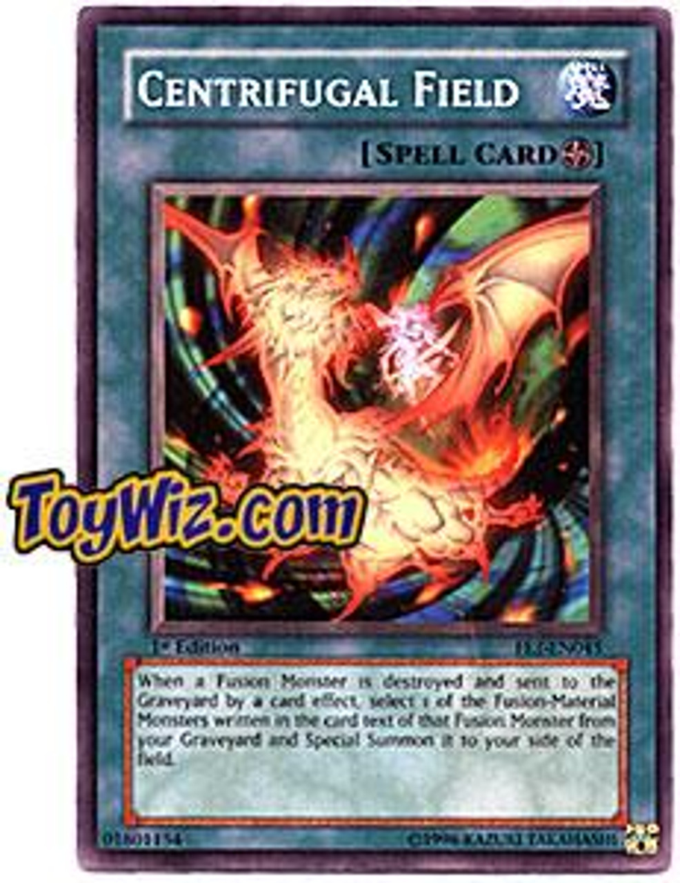 YuGiOh Flaming Eternity Common Centrifugal Field FET-EN045