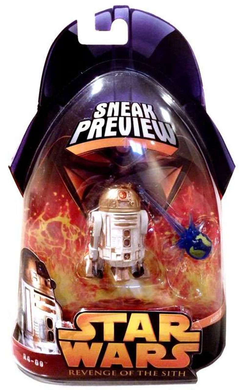 Star Wars Revenge of the Sith 2005 R4-G9 Action Figure