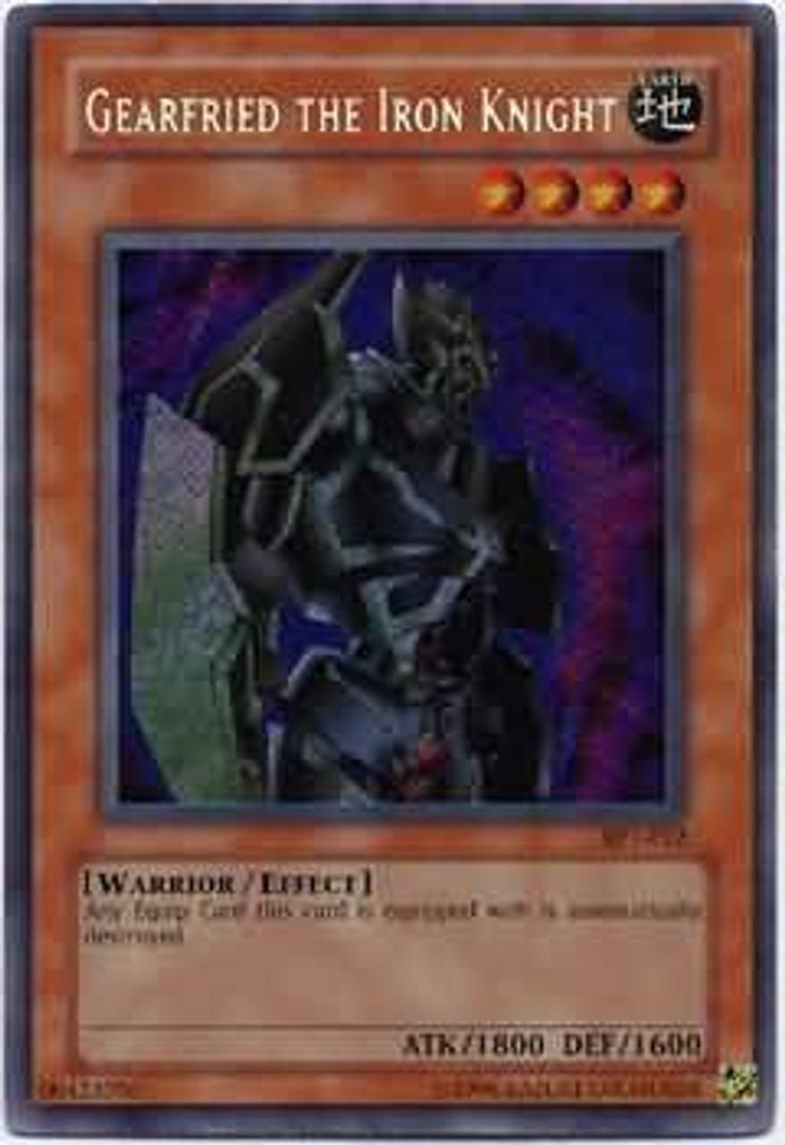 YuGiOh 2003 Collector Tin Secret Rare Gearfried the Iron Knight BPT-012