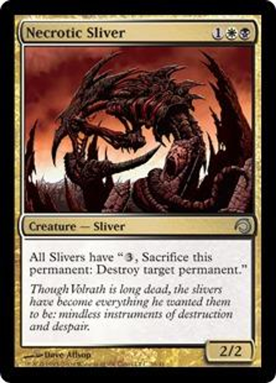MtG Premium Deck Series: Slivers Uncommon Necrotic Sliver #20