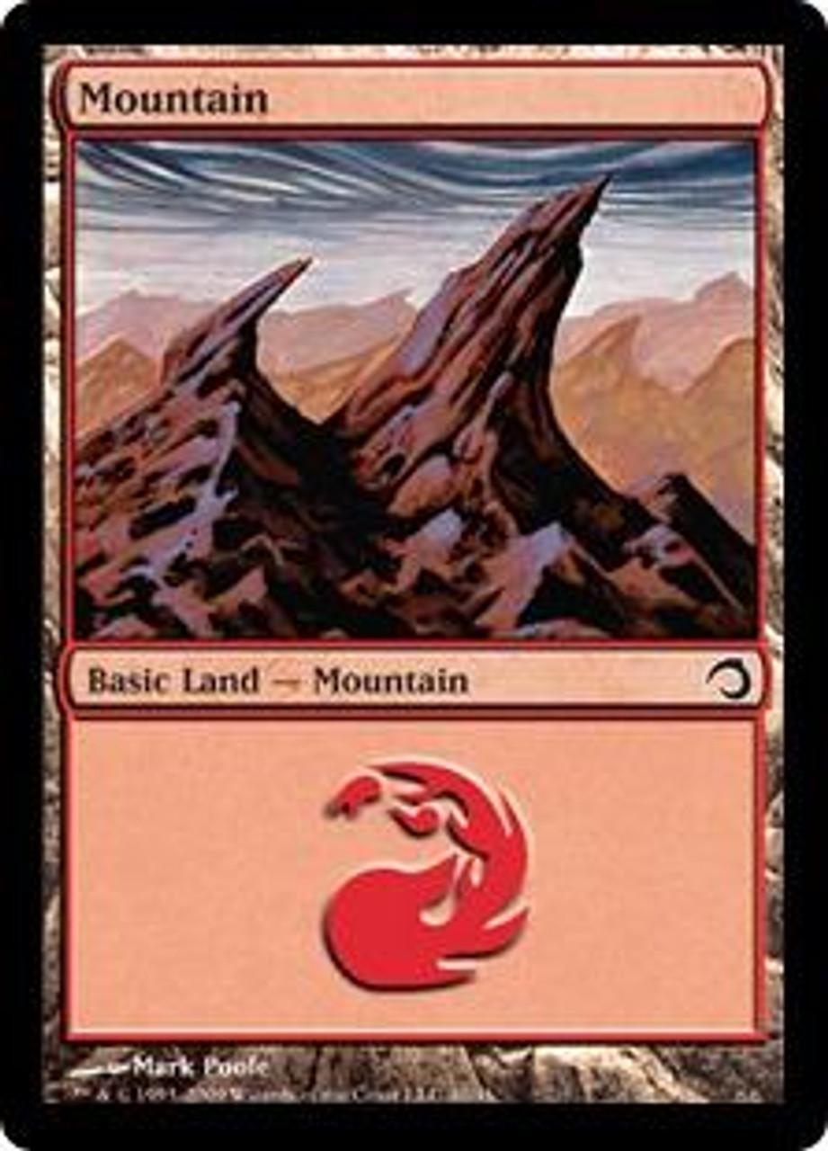MtG Premium Deck Series: Slivers Basic Land Mountain #40 [Random Artwork]