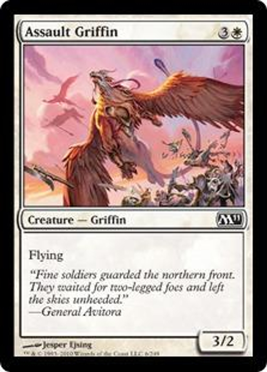 MtG Magic 2011 Common Assault Griffin #6