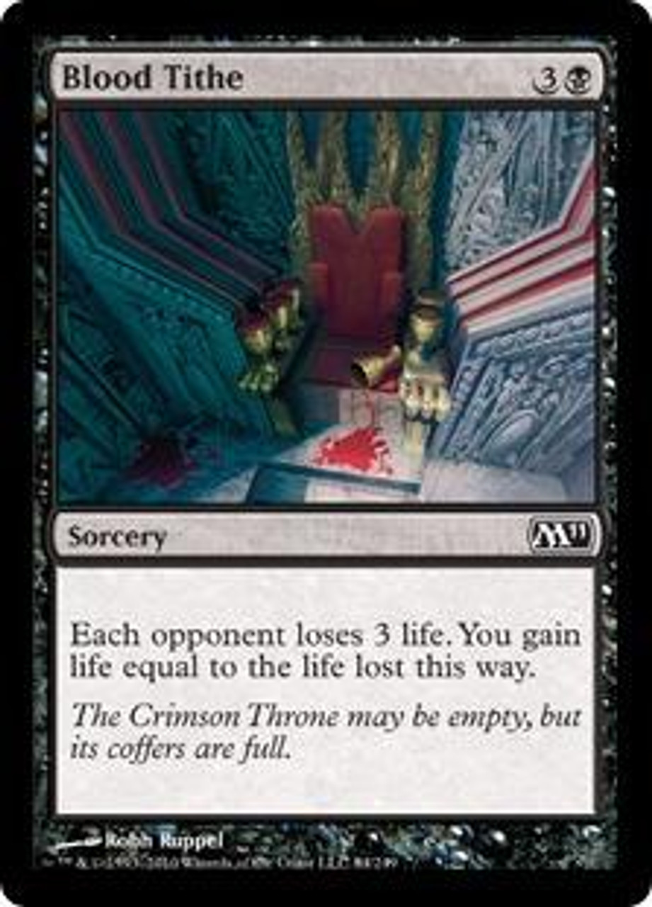 MtG Magic 2011 Common Blood Tithe #84