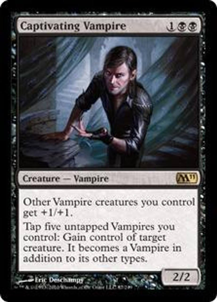 MtG Magic 2011 Rare Captivating Vampire #87
