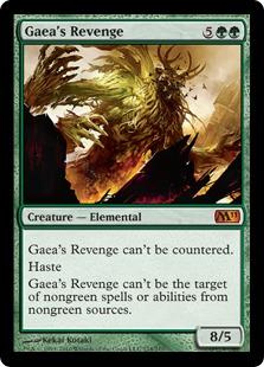 MtG Magic 2011 Mythic Rare Gaea's Revenge #174