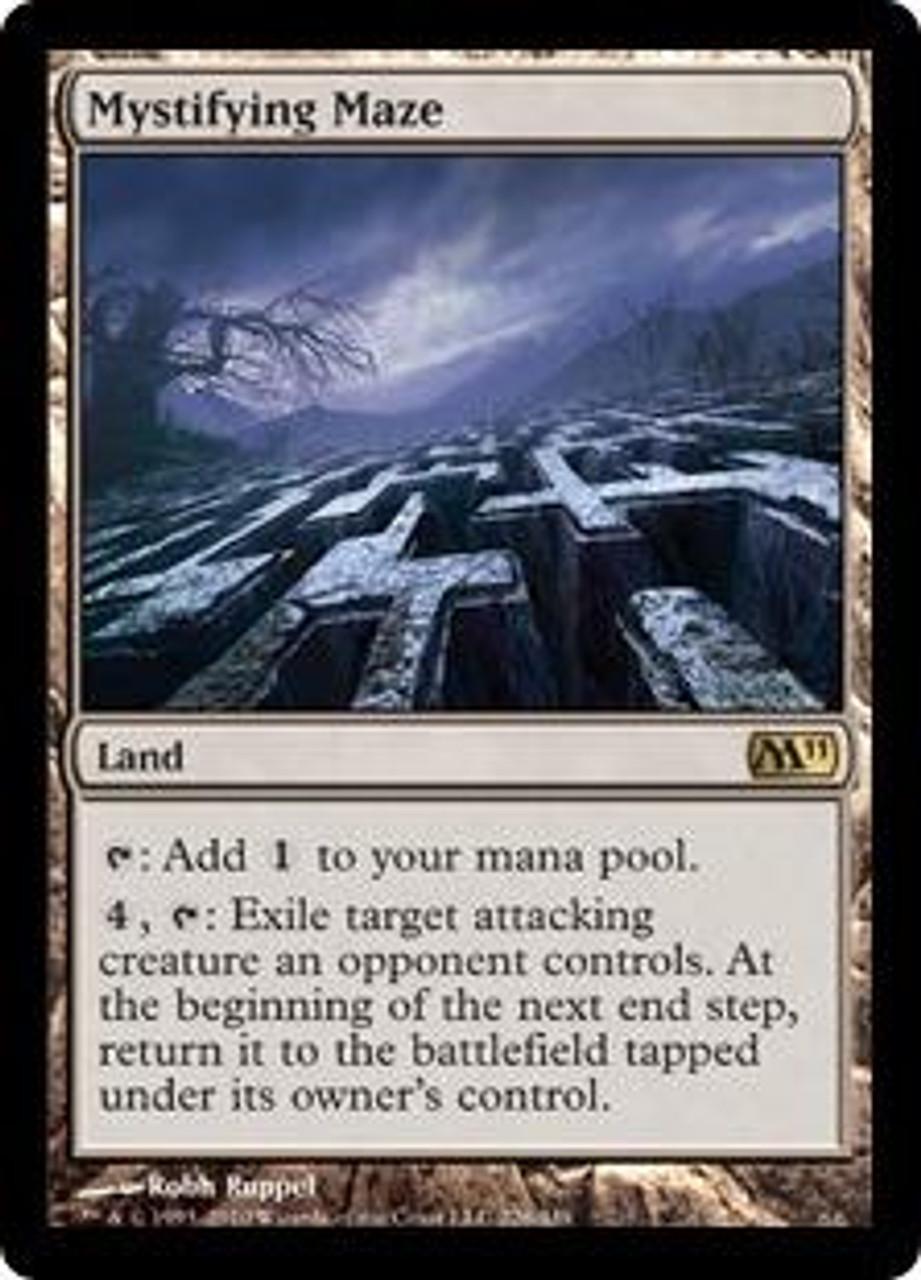MtG Magic 2011 Rare Mystifying Maze #226