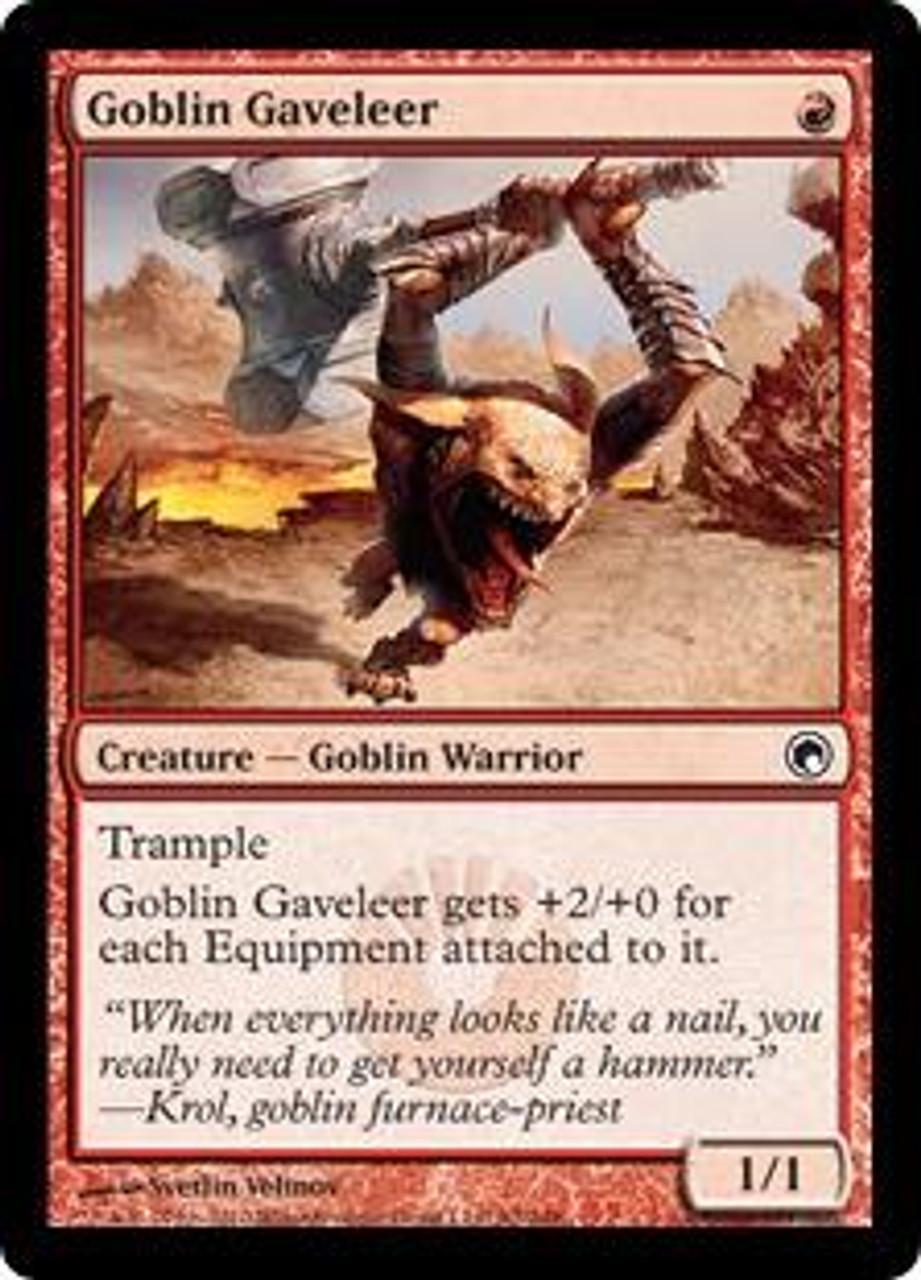 MtG Scars of Mirrodin Common Goblin Gaveleer #92