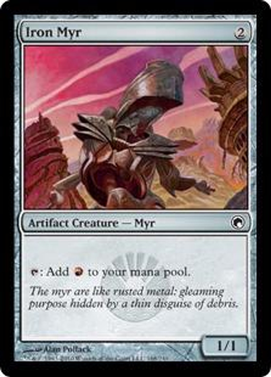 MtG Scars of Mirrodin Common Iron Myr #168