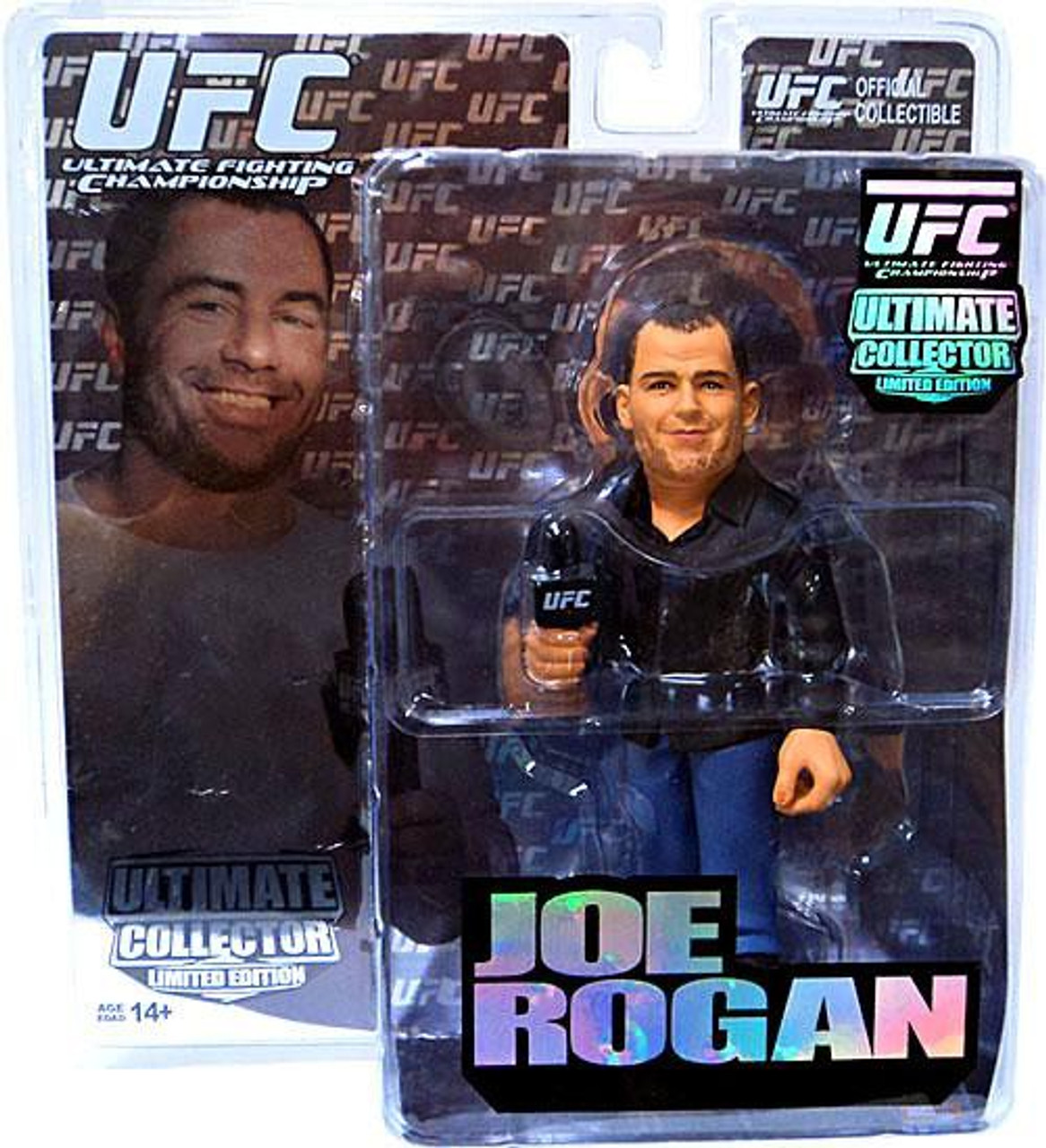 UFC Ultimate Collector Series 6 Joe Rogan Action Figure [Limited Edition]