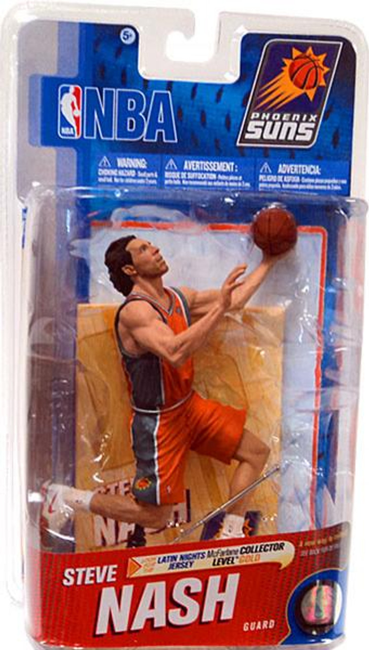 "McFarlane Toys NBA Phoenix Suns Sports Picks Series 19 Steve Nash Action Figure [Latin Nights ""Los Suns"" Jersey]"
