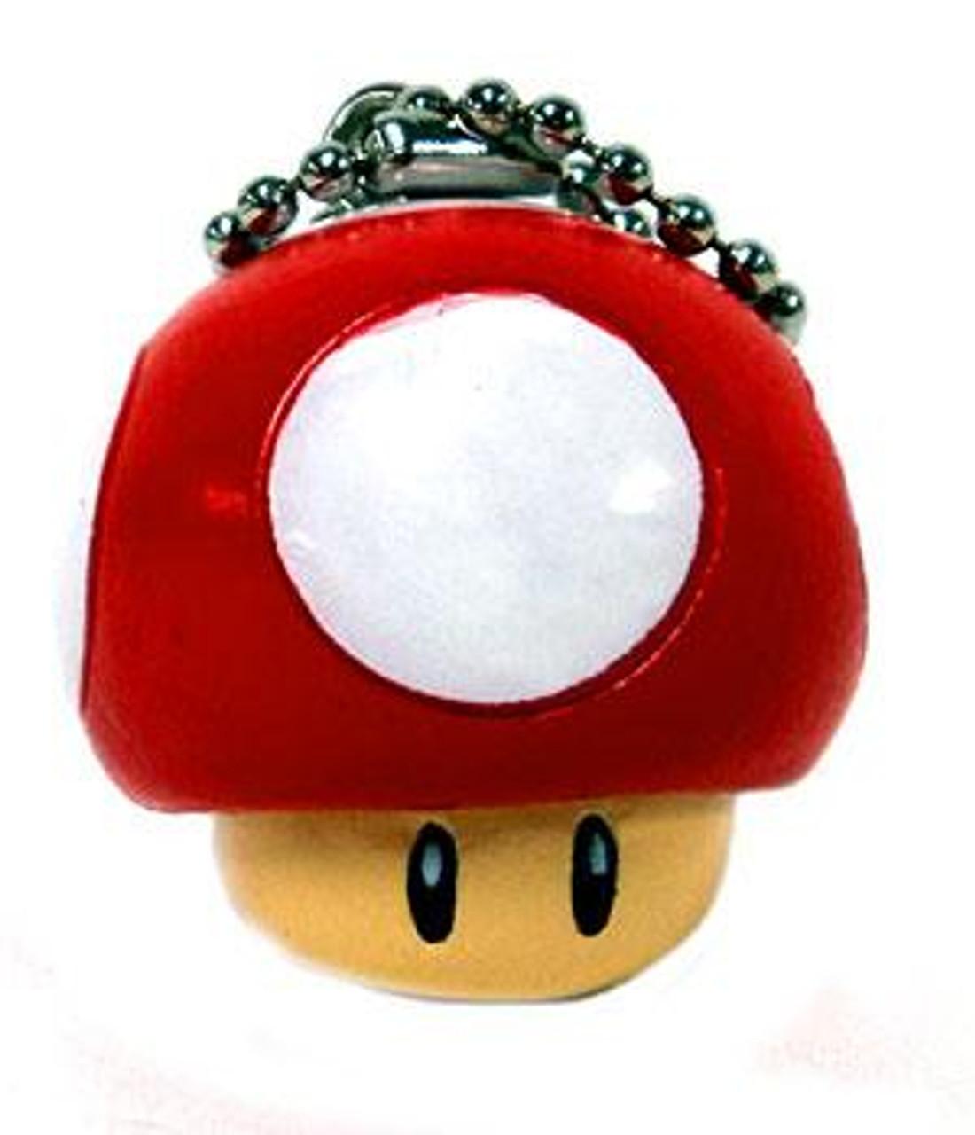 Super Mario Mario Kart DS Super Mushroom Keychain