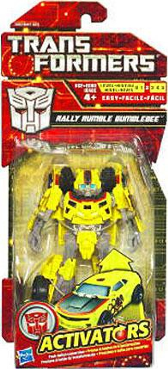 Transformers Activators Rally Rumble Bumblebee Action Figure