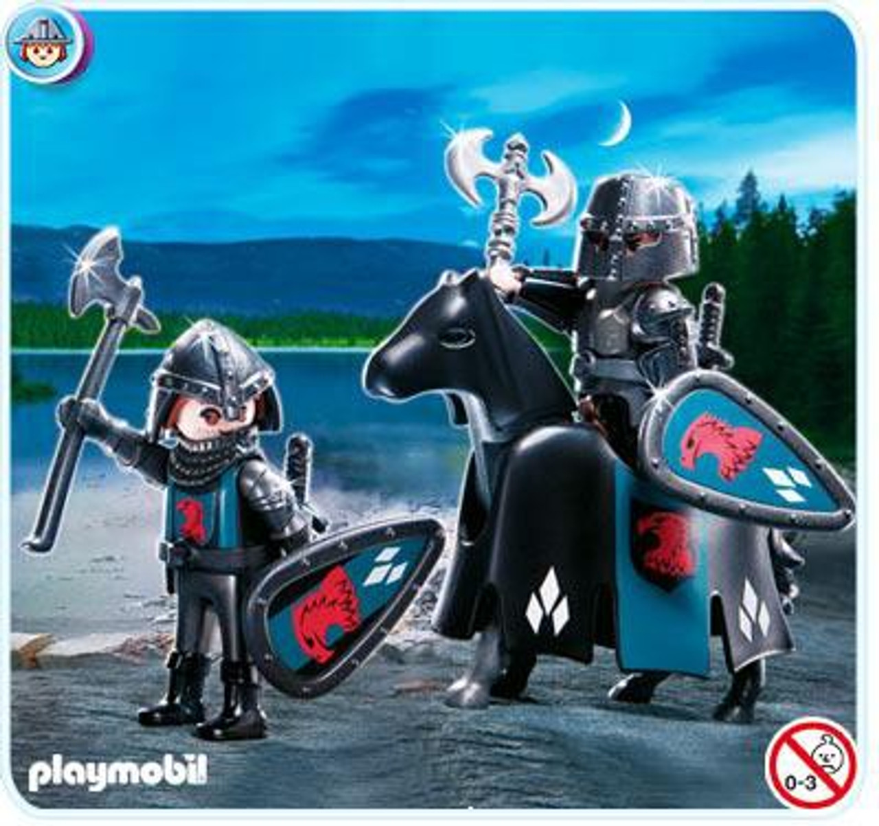Playmobil Falcon Knights Troop Set #4873