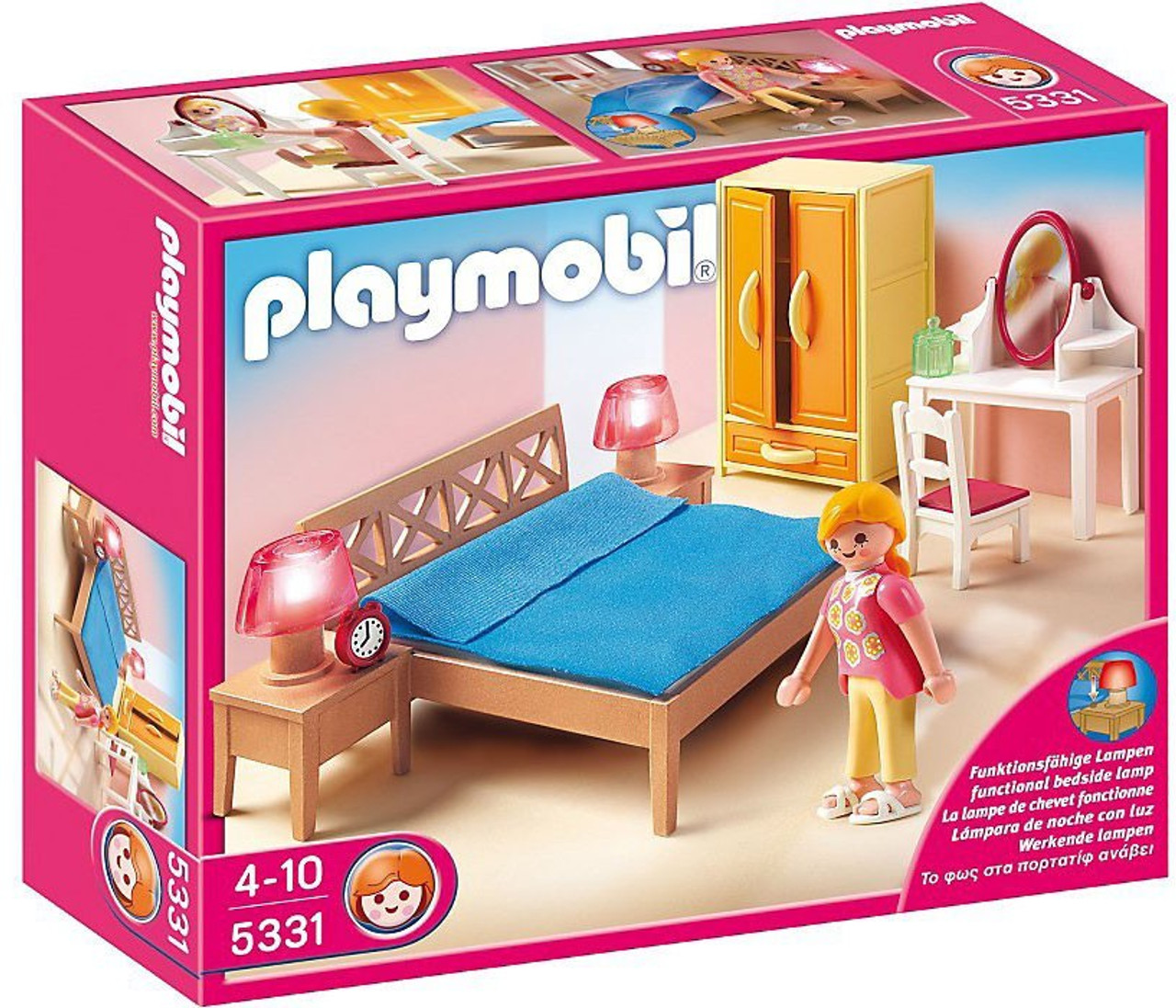 Playmobil Doll's House Parents Bedroom Set #5331