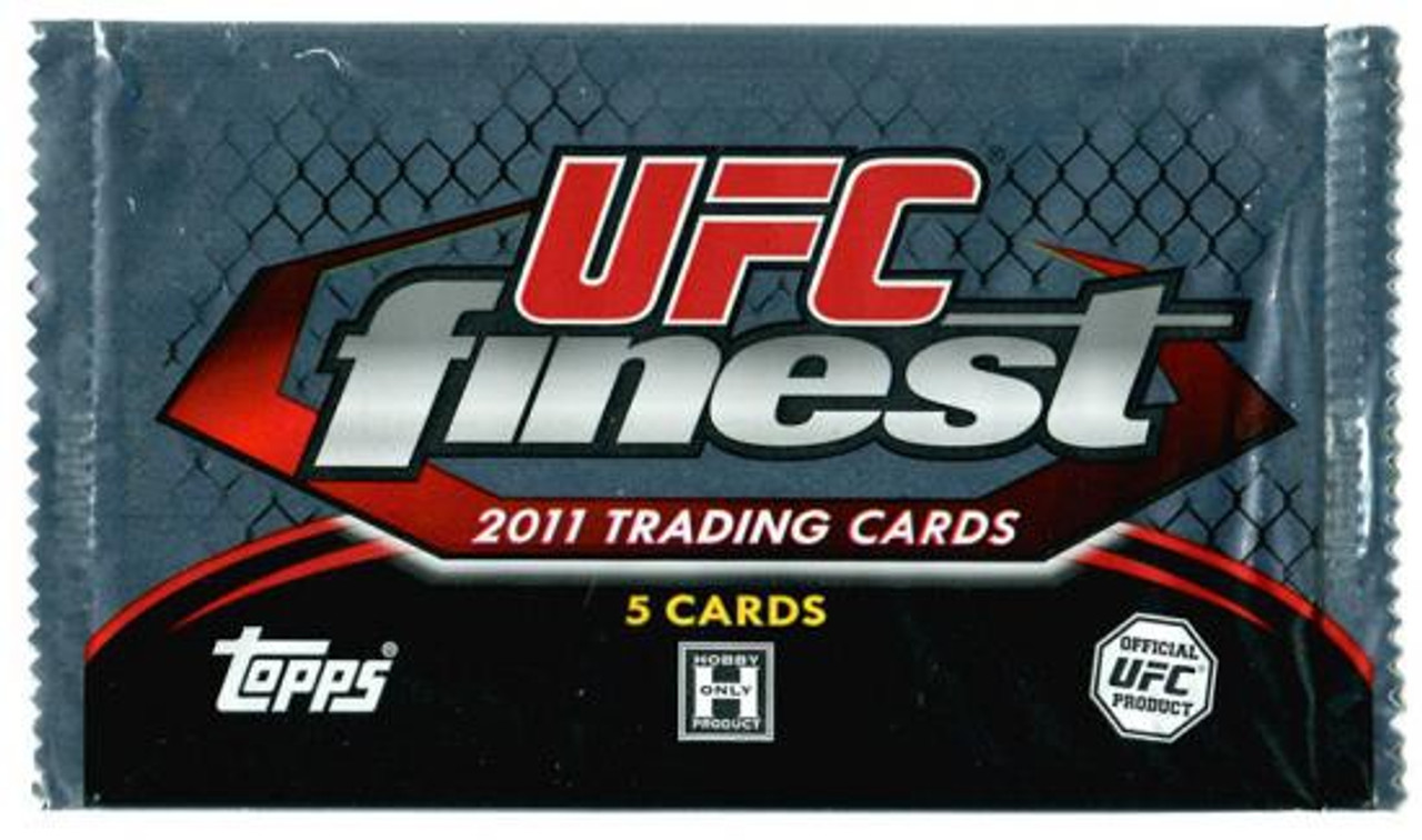 UFC 2011 Finest Trading Card Pack