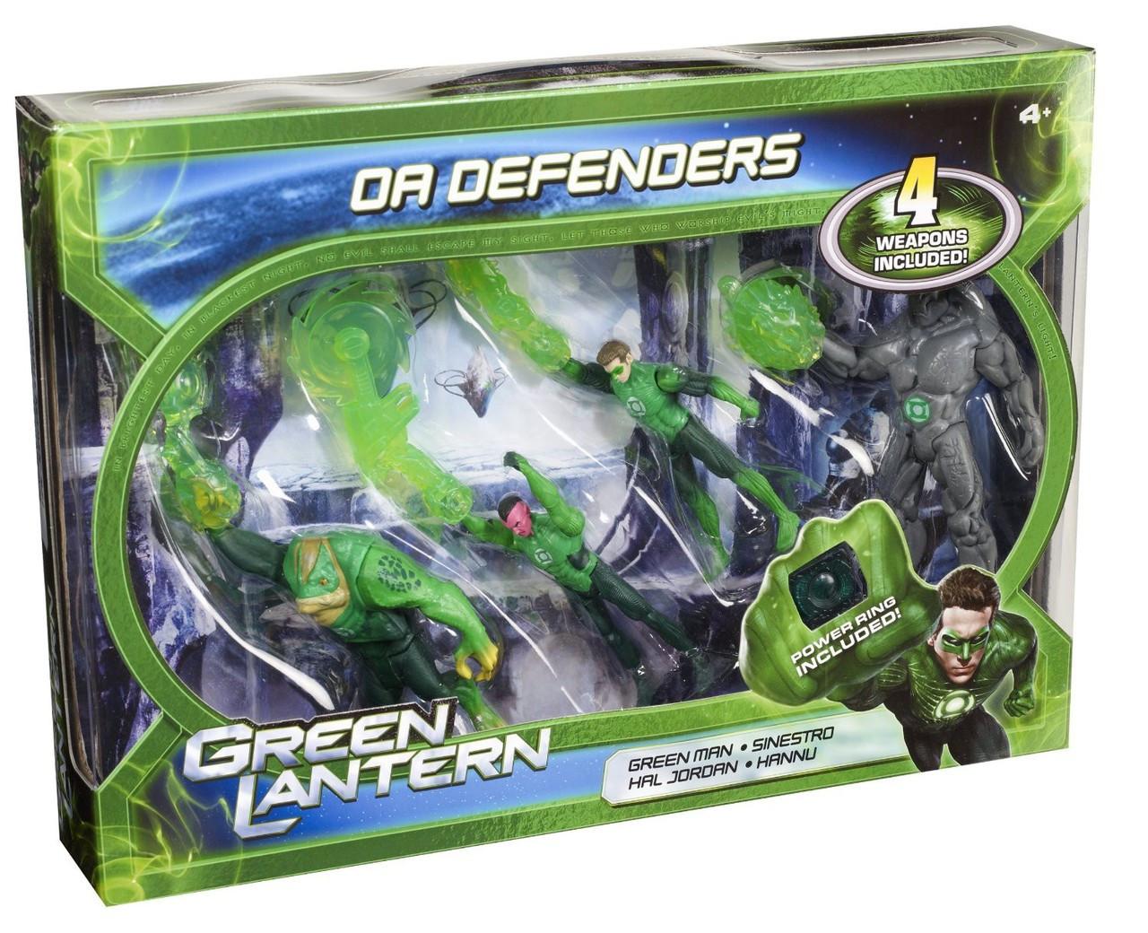 Green Lantern Movie OA Defenders Action Figure 4-Pack