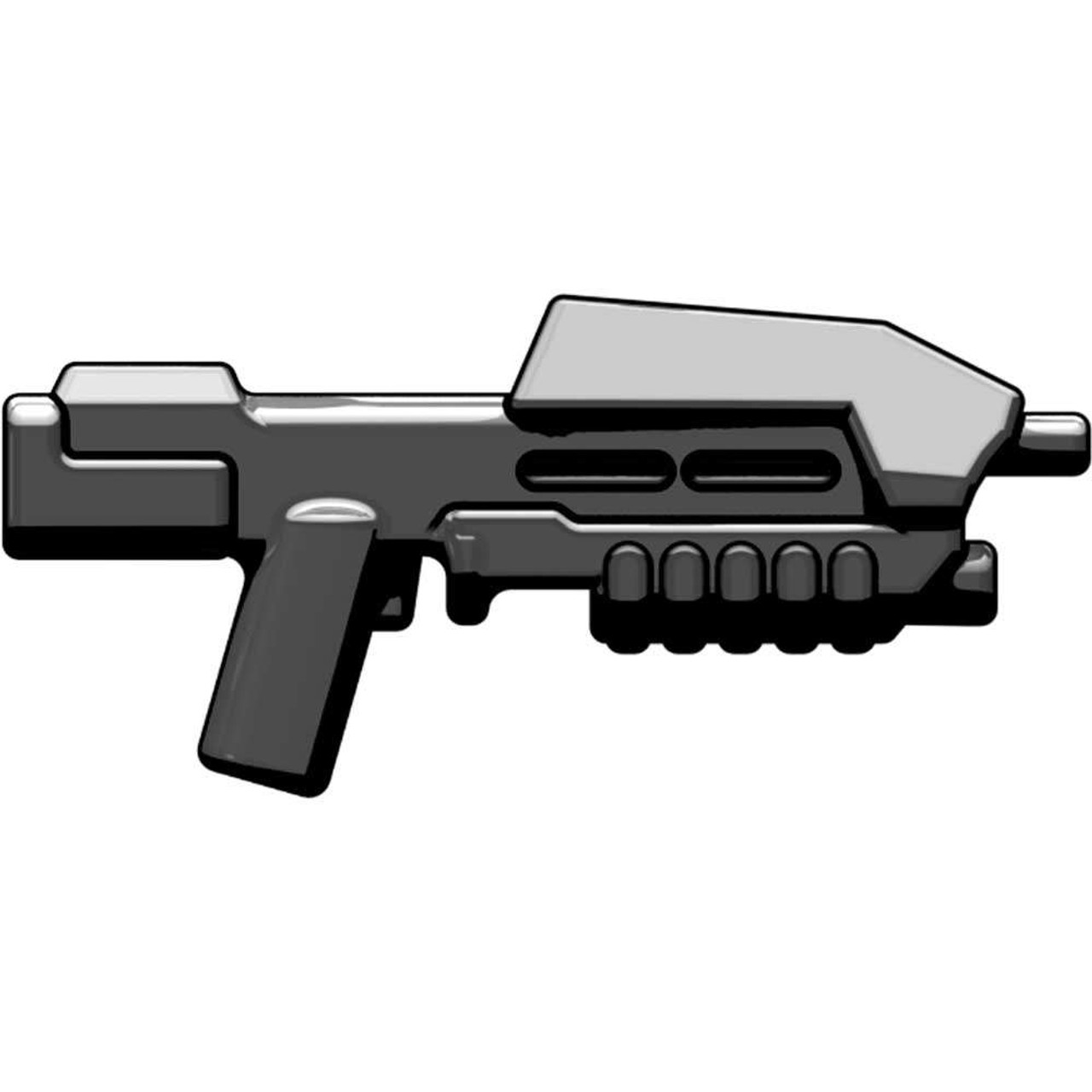 BrickArms Weapons BA-M5 Space Assault Rifle 2.5-Inch [Black]