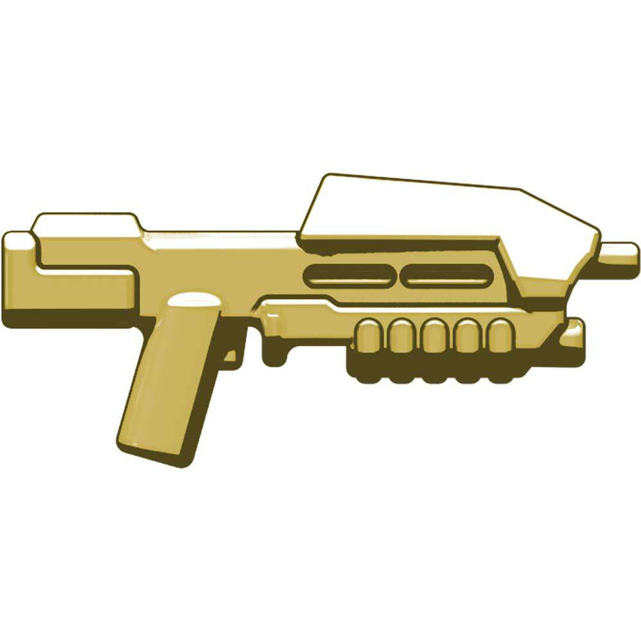 BrickArms Weapons BA-M5 Space Assault Rifle 2.5-Inch [Tan]