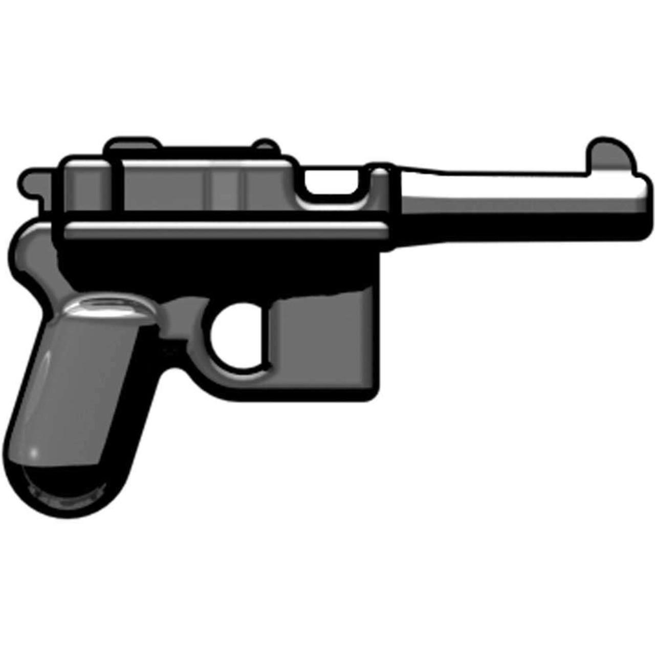 BrickArms Weapons C96 'Broomhandle' Mauser 2.5-Inch [Gunmetal]