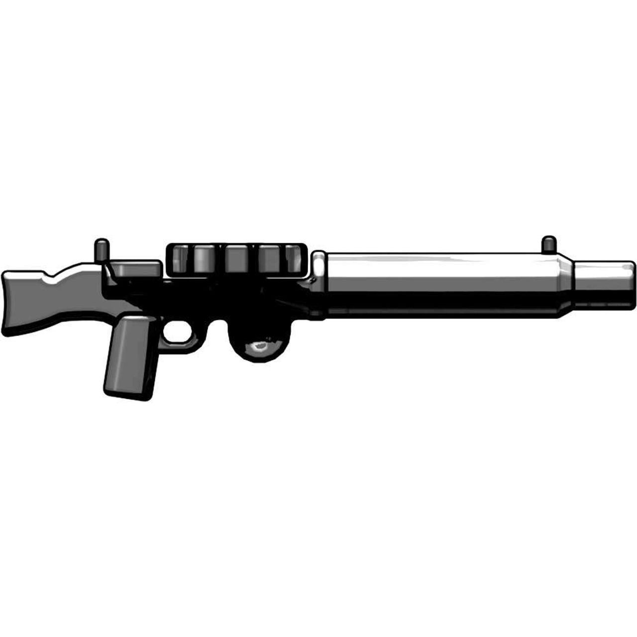 BrickArms Weapons Lewis Heavy Machine Gun 2.5-Inch [Gunmetal]