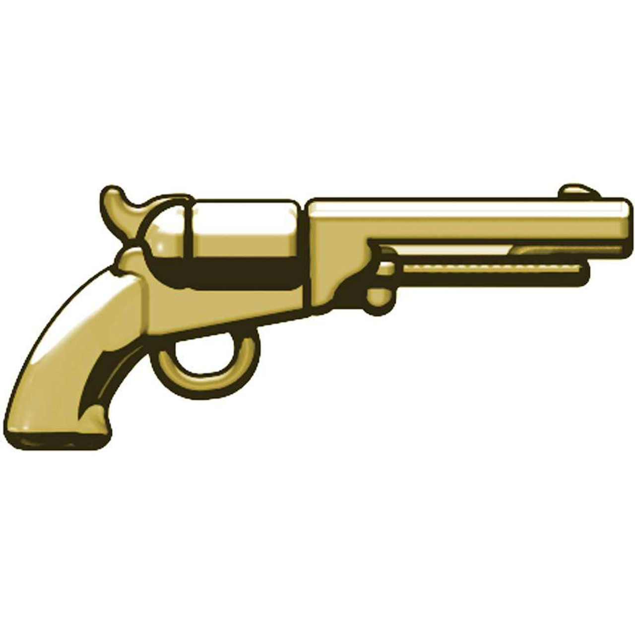 BrickArms Weapons M1851 Navy Revolver 2.5-Inch [Tan]