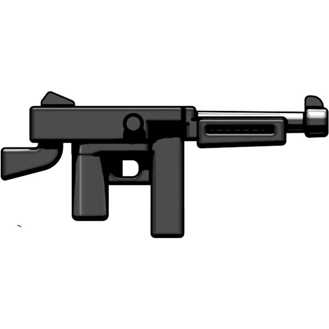 BrickArms Weapons M1A1 .45 Caliber SMG 2.5-Inch [Black]