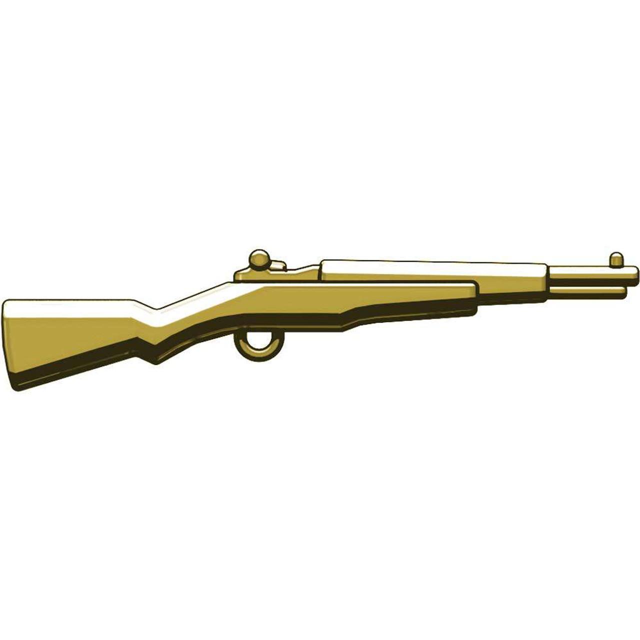 BrickArms Weapons M1 Garand WWII Rifle 2.5-Inch [Tan]