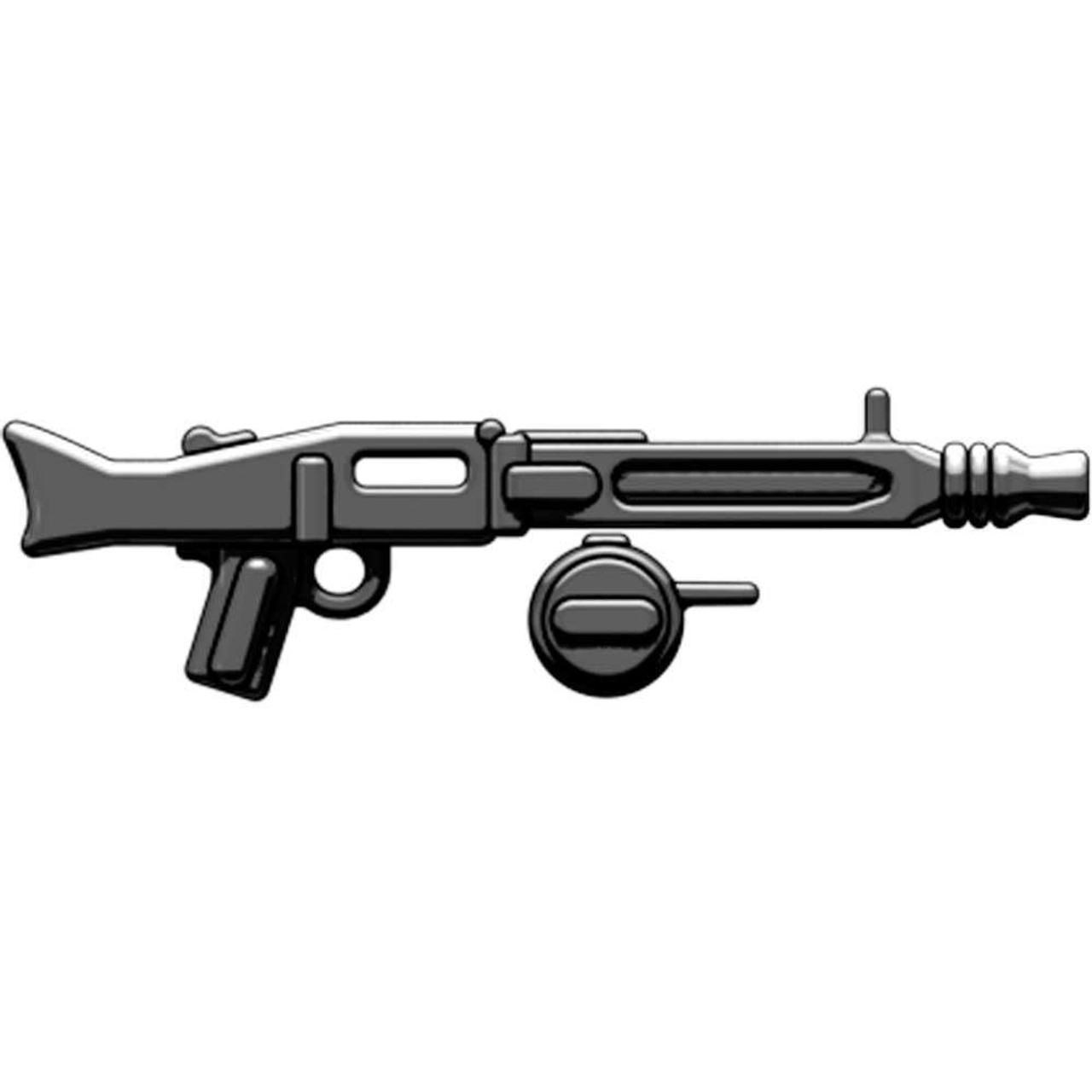 BrickArms Weapons MG-42 with Ammo Drum 2.5-Inch [Black]