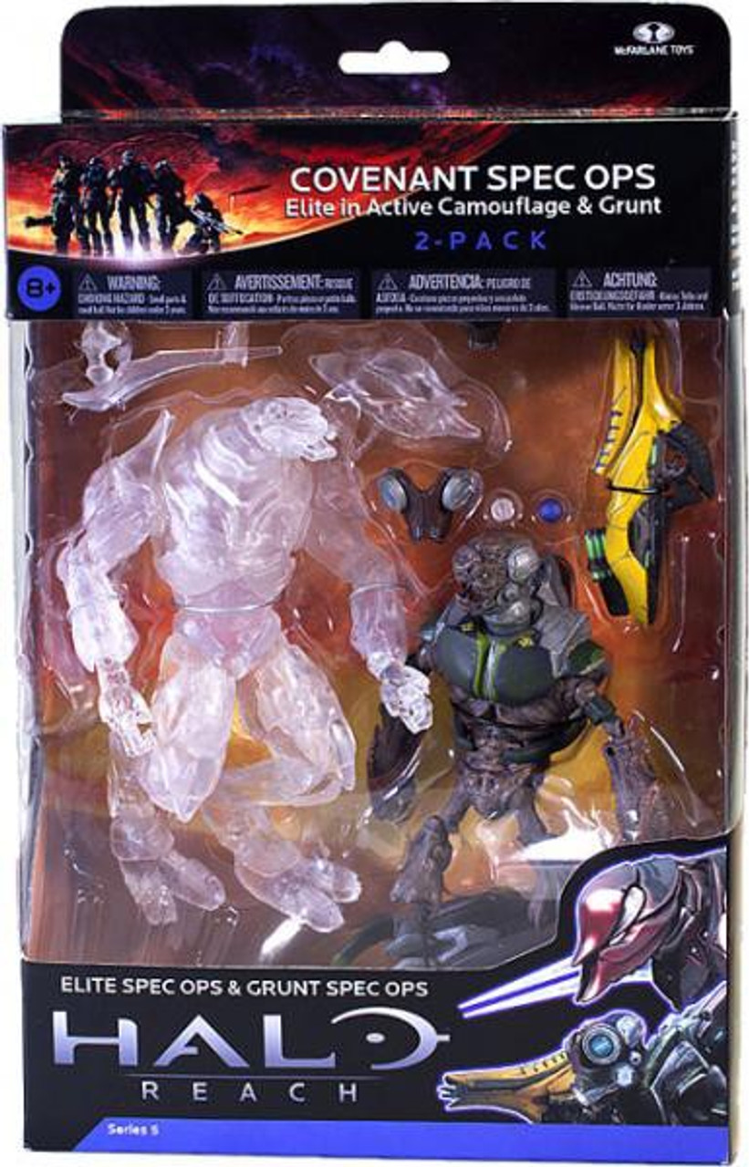 McFarlane Toys Halo Reach Series 5 Covenant Spec Ops Action Figure 2-Pack