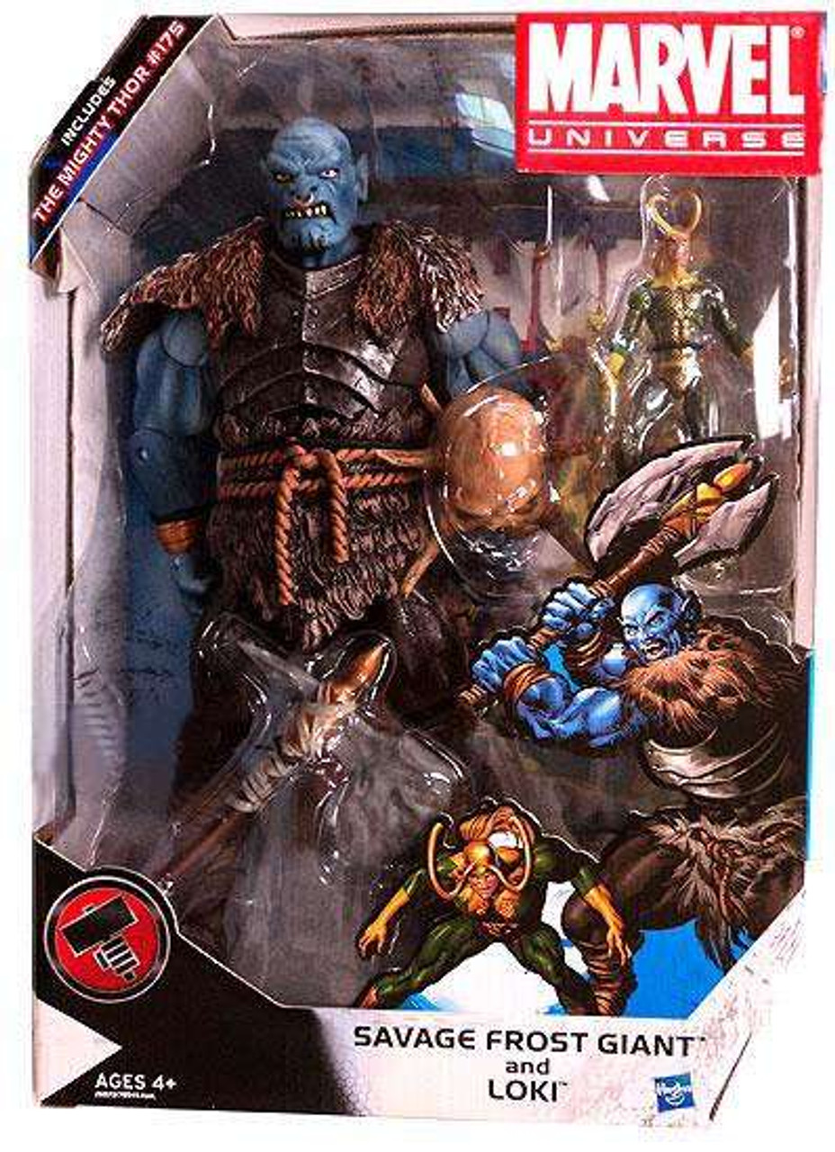 Marvel Universe Exclusives Savage Frost Giant and Loki Exclusive Action Figure Set #175