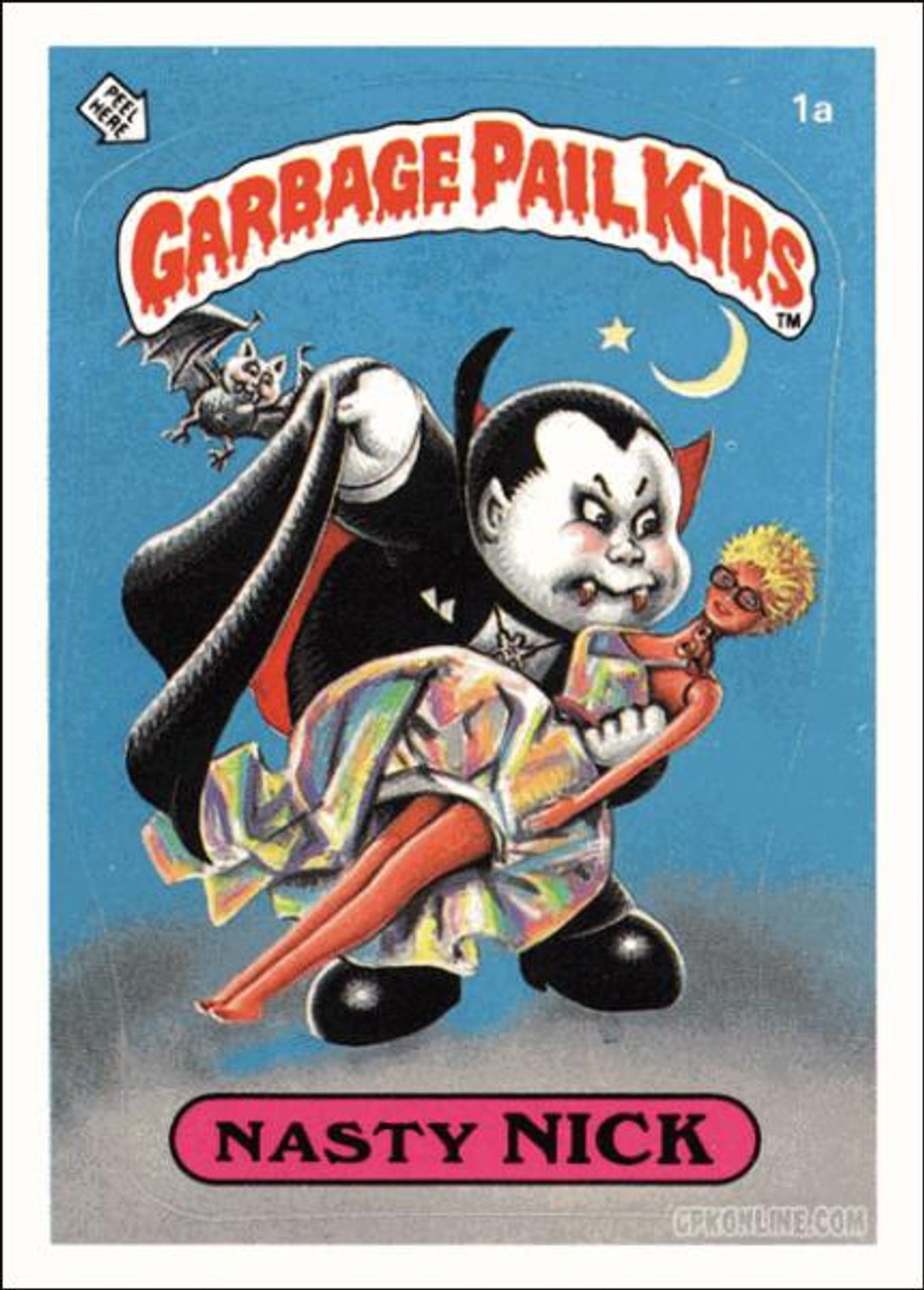 Garbage Pail Kids Original 1980's Series 1 Complete Set