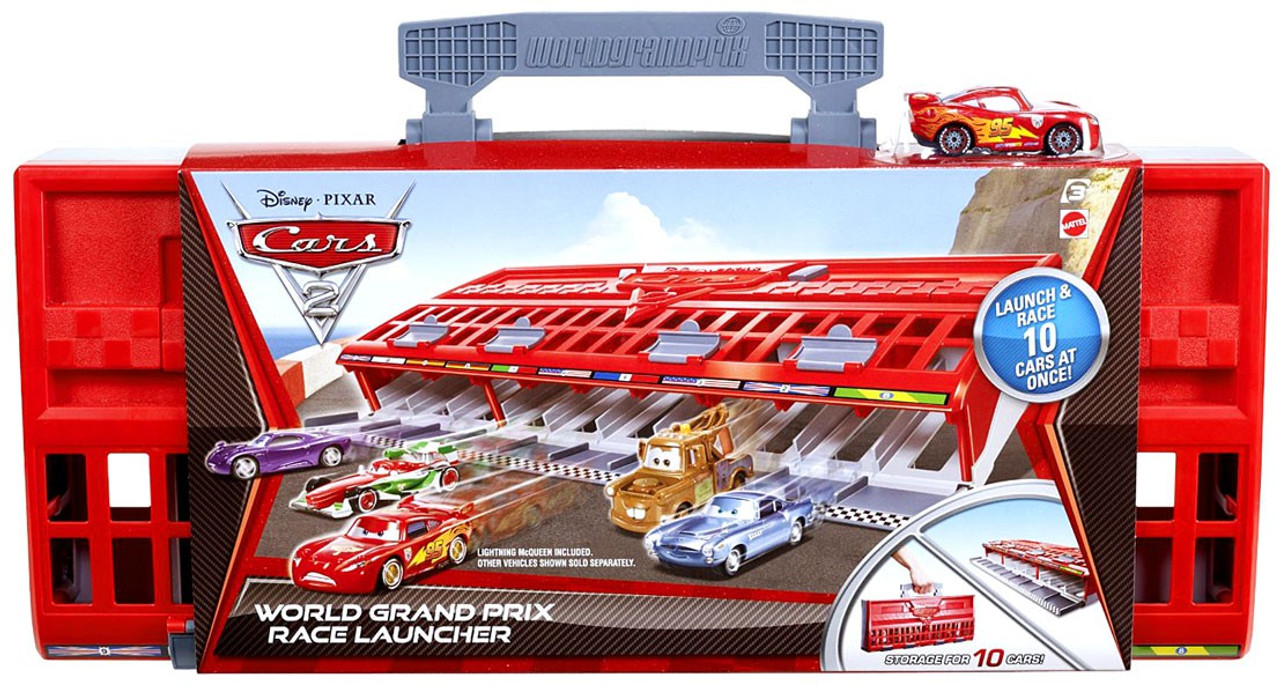 Disney Cars Cars 2 Playsets World Grand Prix Race Launcher Playset