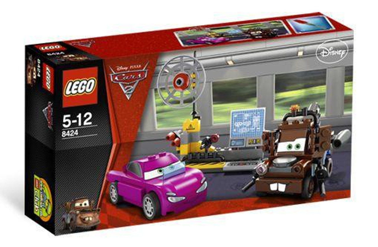 LEGO Disney Cars Cars 2 Mater's Spy Zone Set #8424