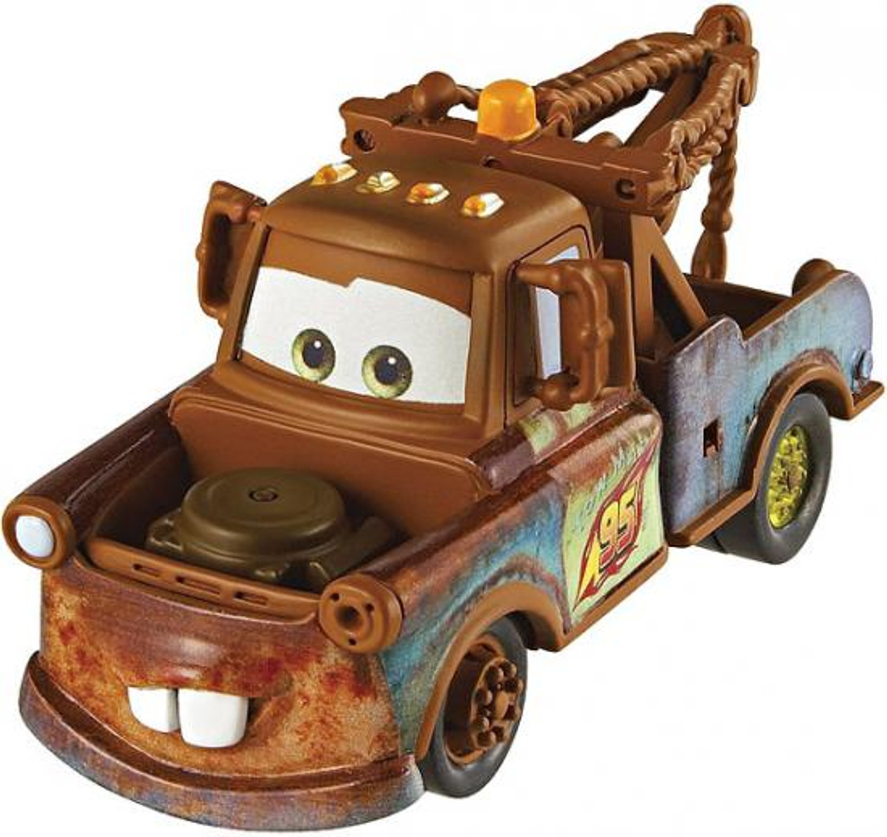 Disney Cars Cars 2 Loose Race Team Mater Diecast Car [Loose]