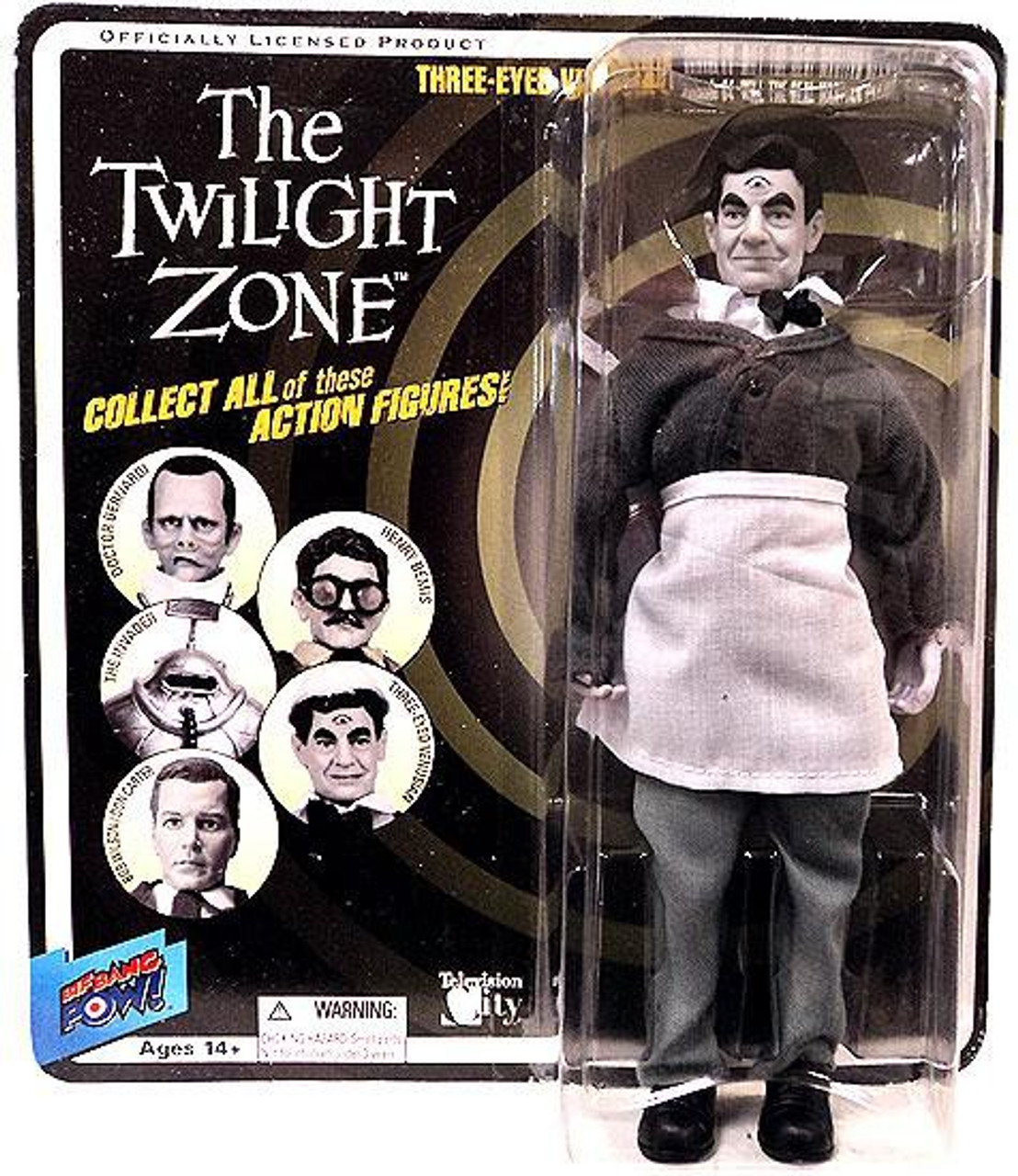The Twilight Zone Series 5 The Venusian Action Figure