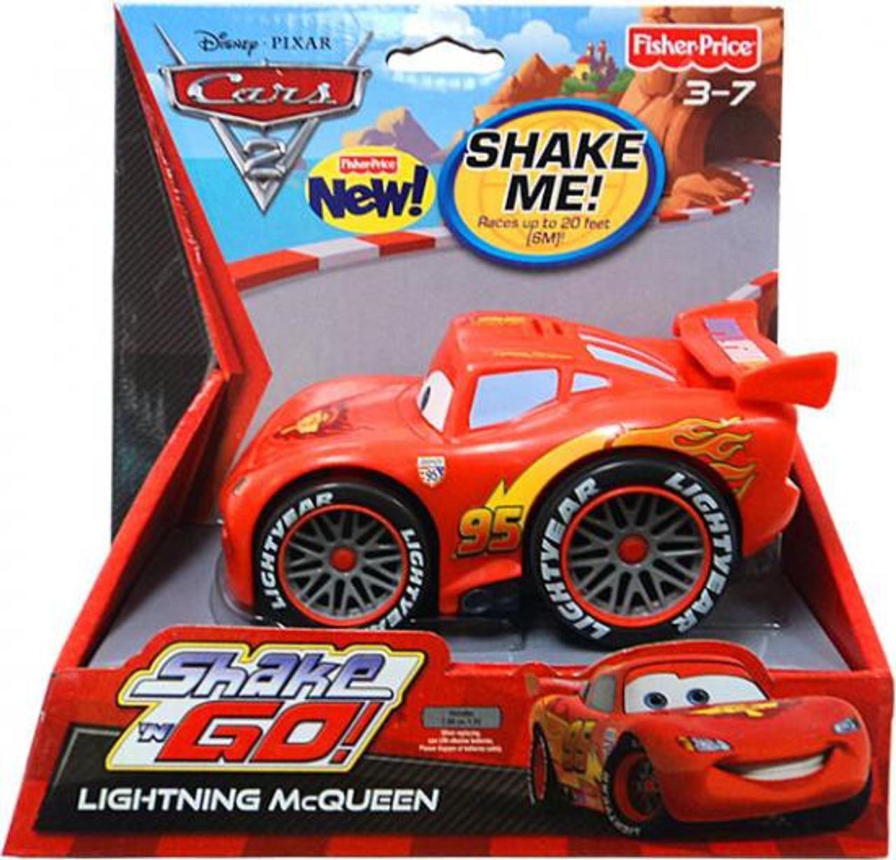 Disney Cars  Shake And Go Race Track