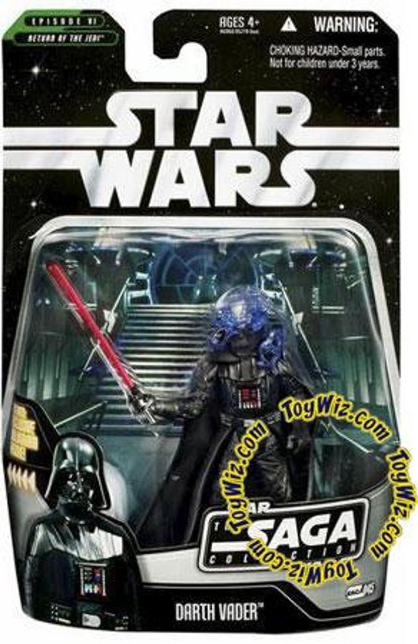 Star Wars Return of the Jedi Saga Collection 2006 Darth Vader Action Figure #45 [Final Battle]