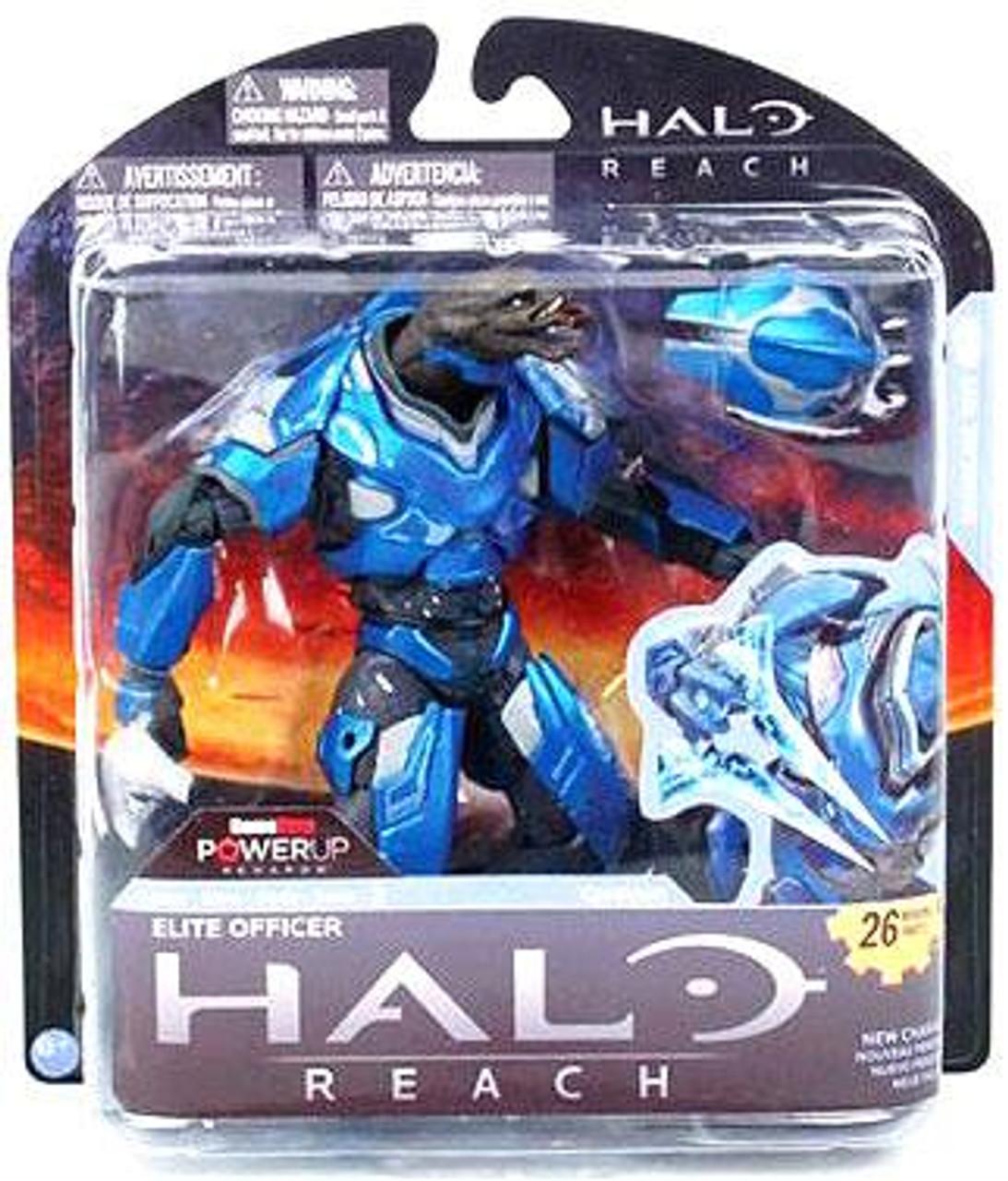 McFarlane Toys Halo Reach Series 2 Elite Officer Exclusive Action Figure [Blue]