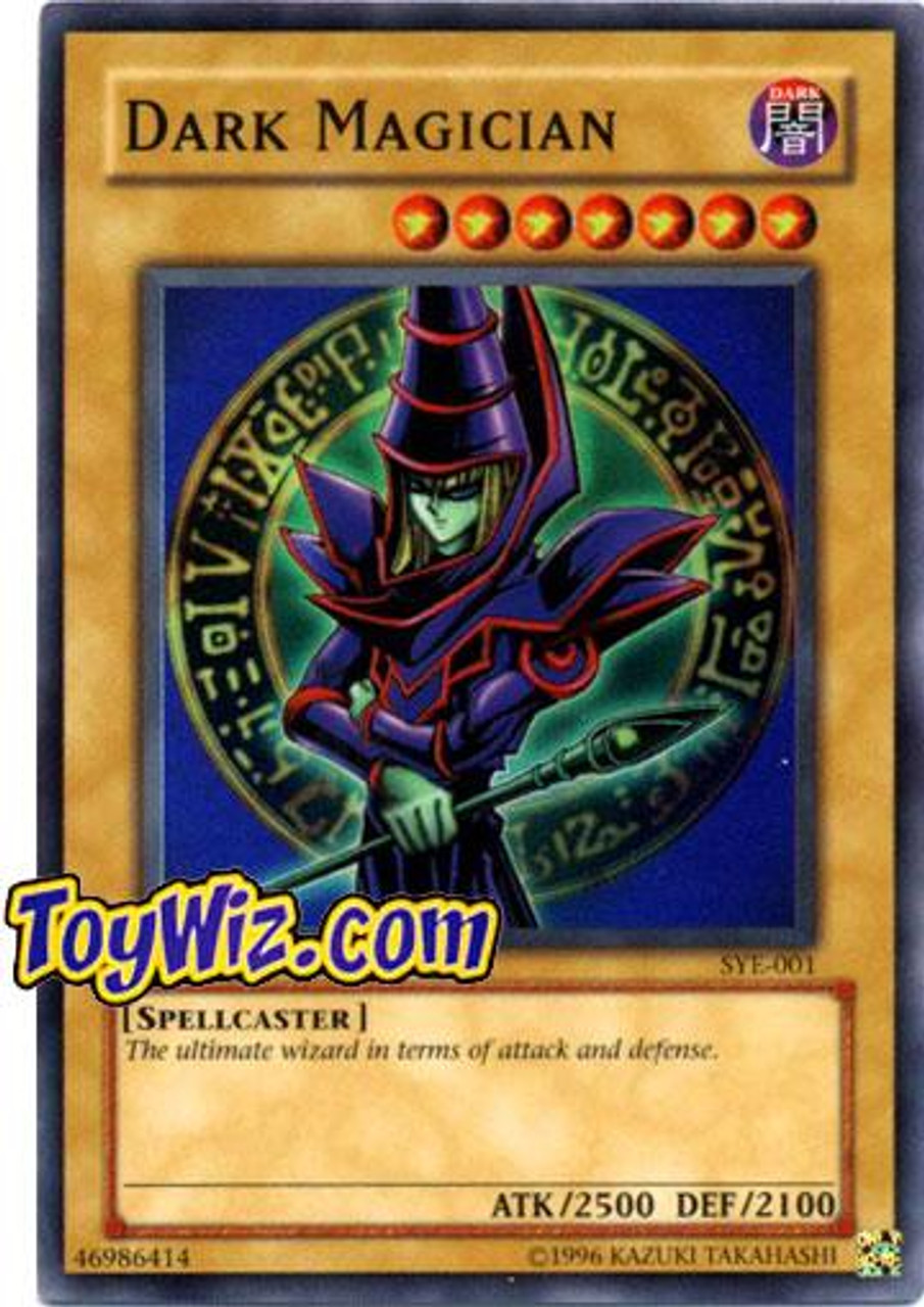 YuGiOh Yugi Evolution Deck Super Rare Dark Magician SYE-001