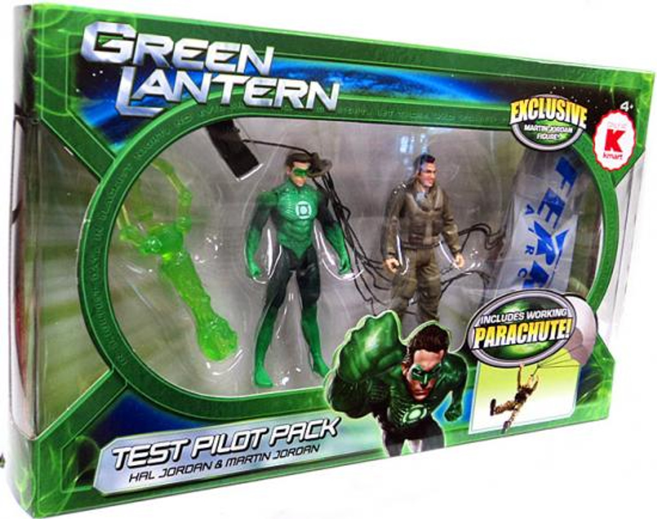 Green Lantern Movie Test Pilot Pack Exclusive Action Figure 2-Pack