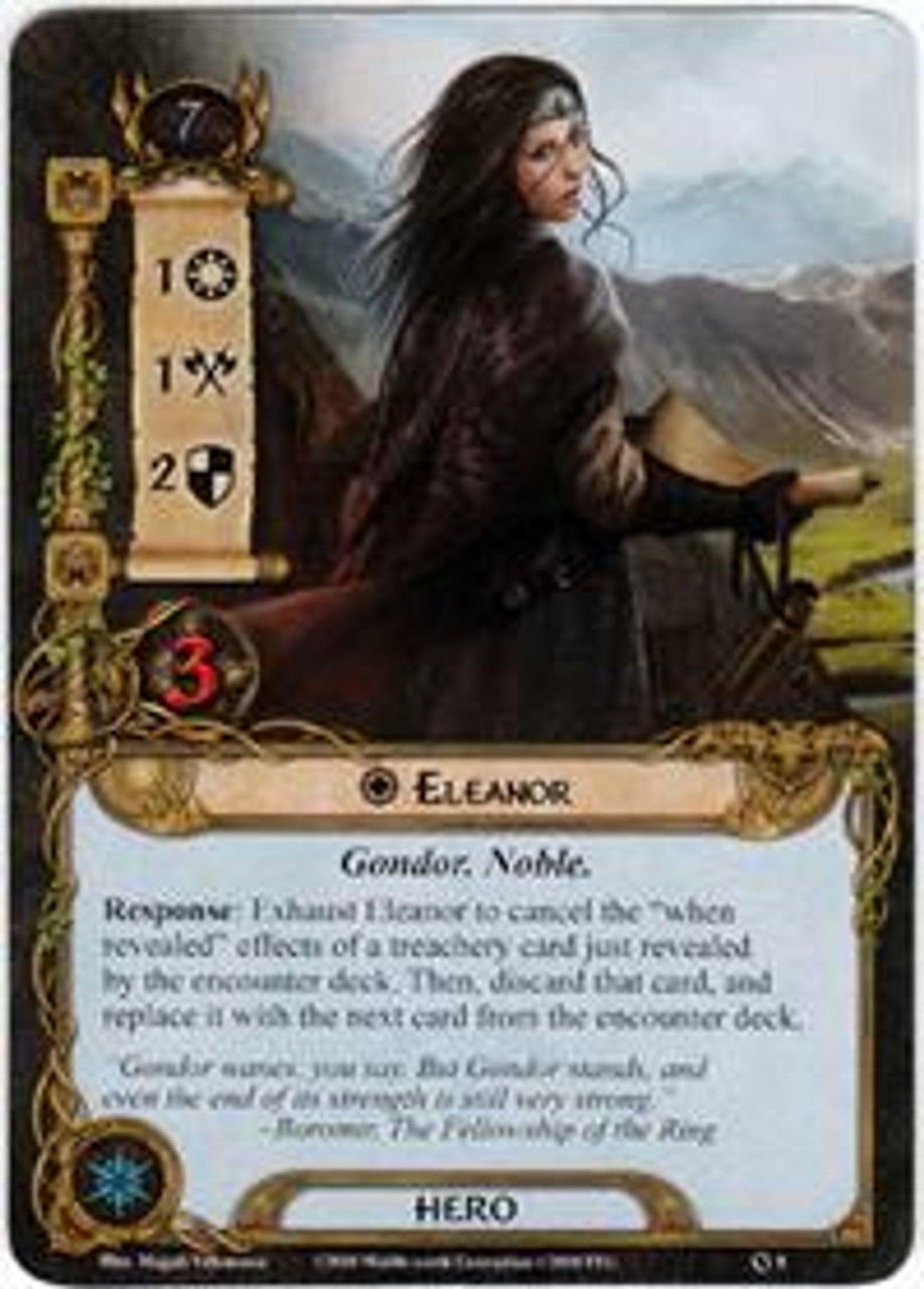 The Lord of the Rings The Card Game Core Set Rare Eleanor #8