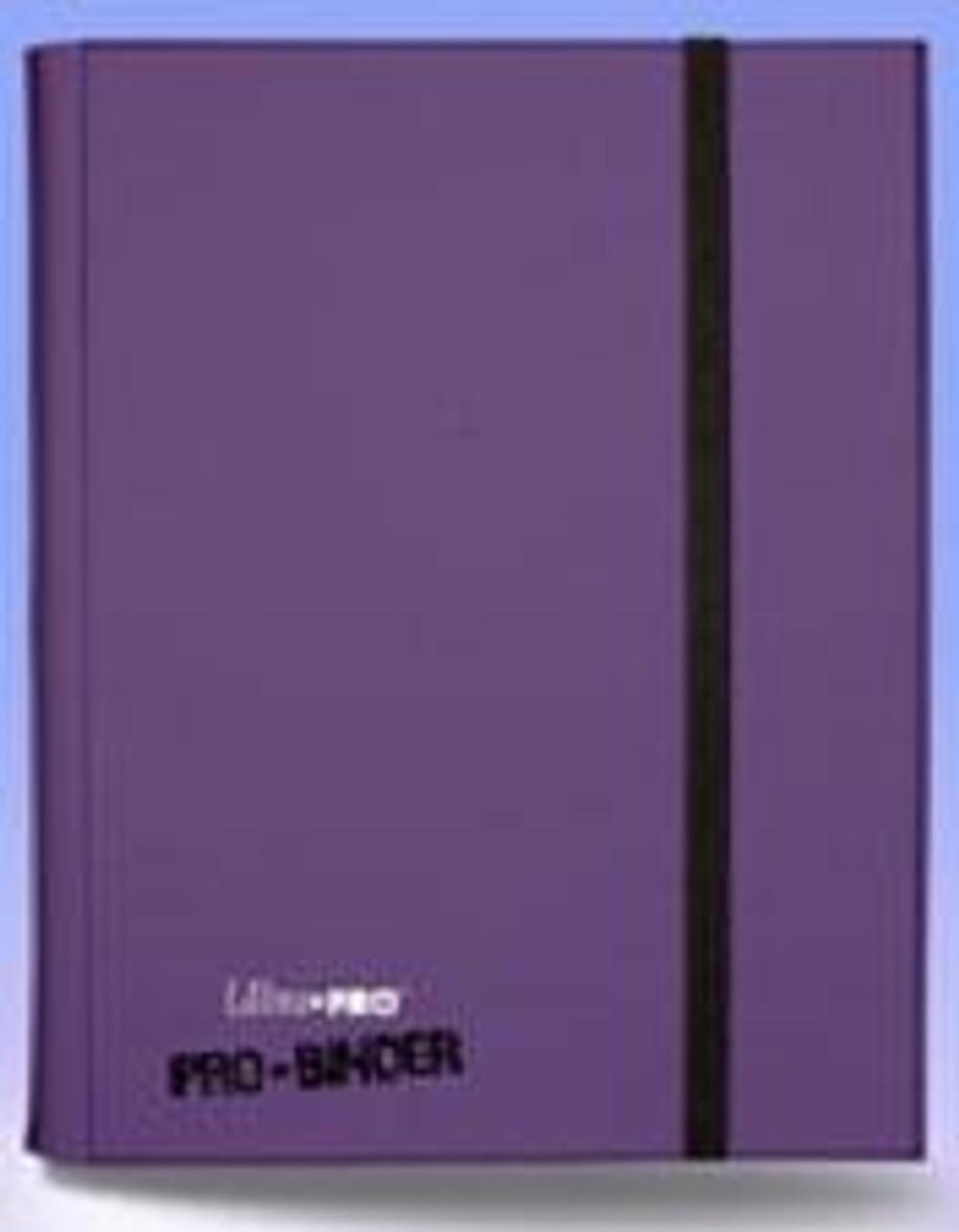 Ultra Pro Card Supplies Pro-Binder Purple 9-Pocket Binder
