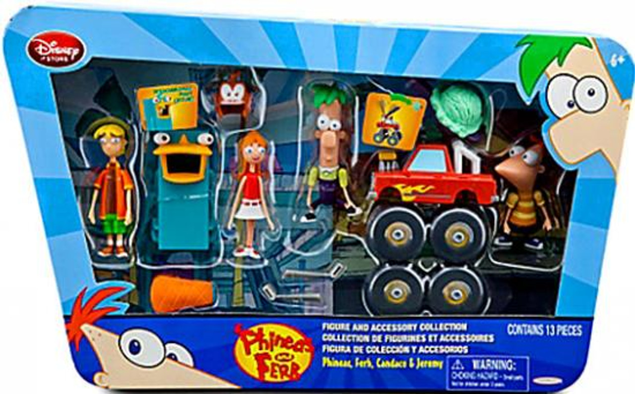 Disney Phineas and Ferb Monster Truck Experiment Exclusive Playset