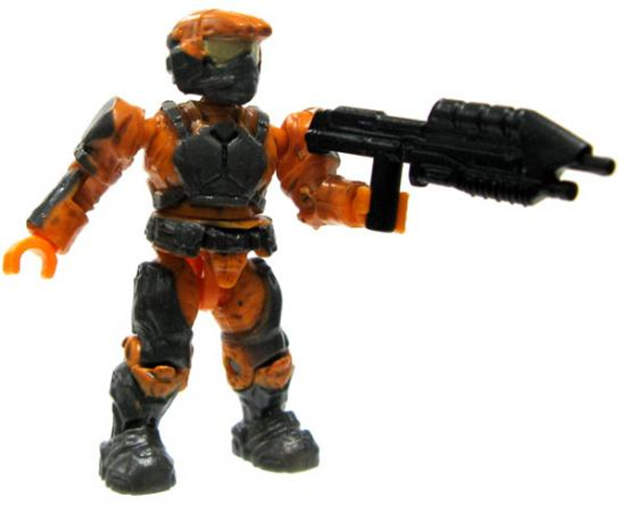 Mega Bloks Halo Loose Marine 2-Inch Minifigure [Orange with Assault Rifle Loose]