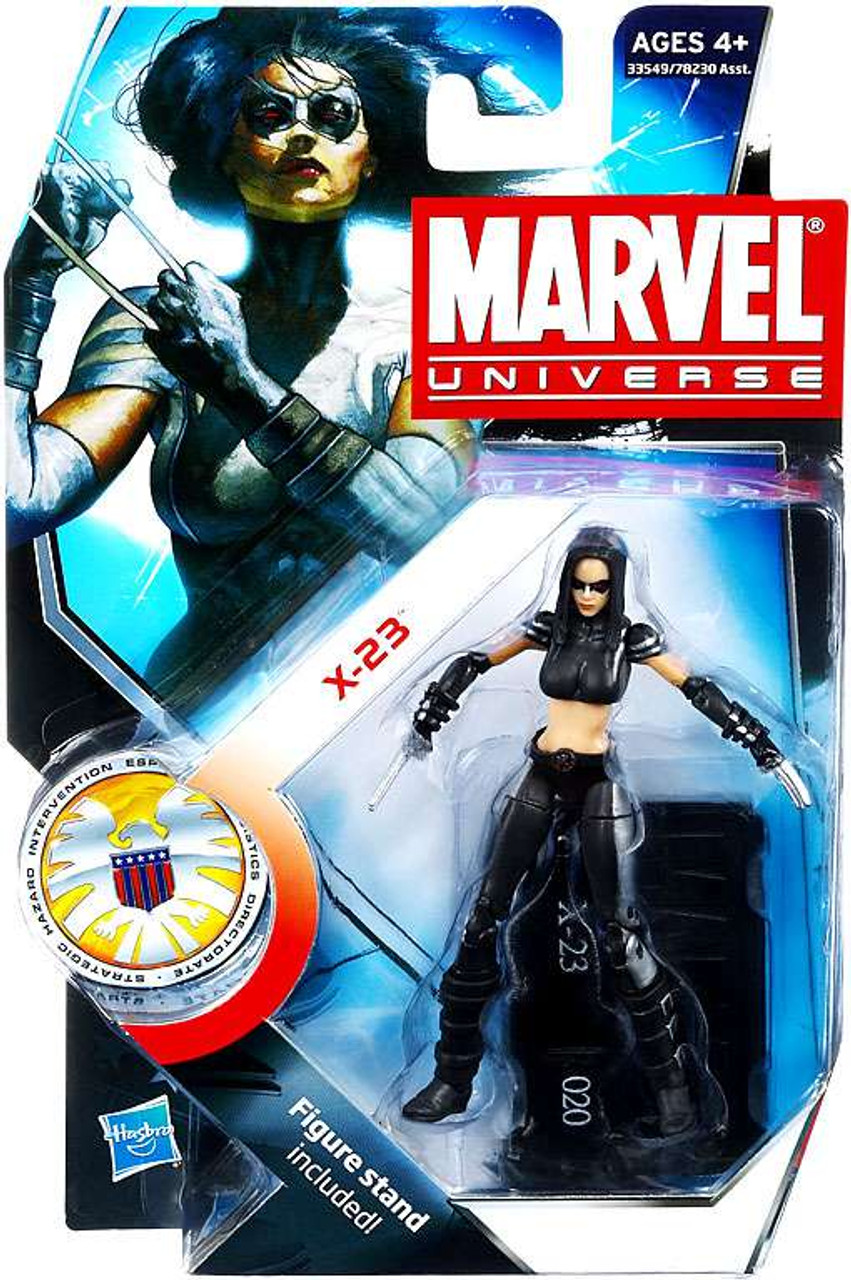 Marvel Universe Series 15 X-23 Action Figure #20 [X-Force Costume]