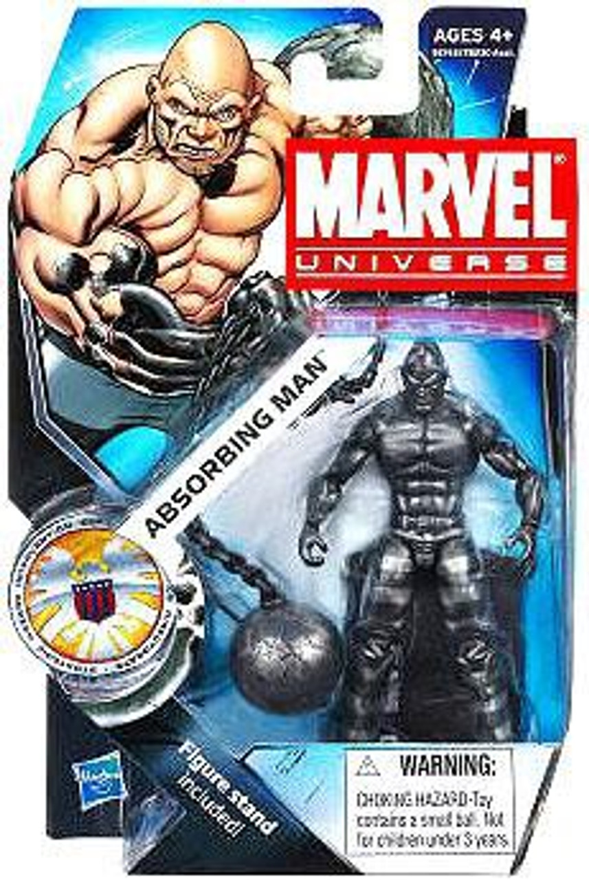 Marvel Universe Series 16 Absorbing Man Action Figure #24 [Dark Metallic]