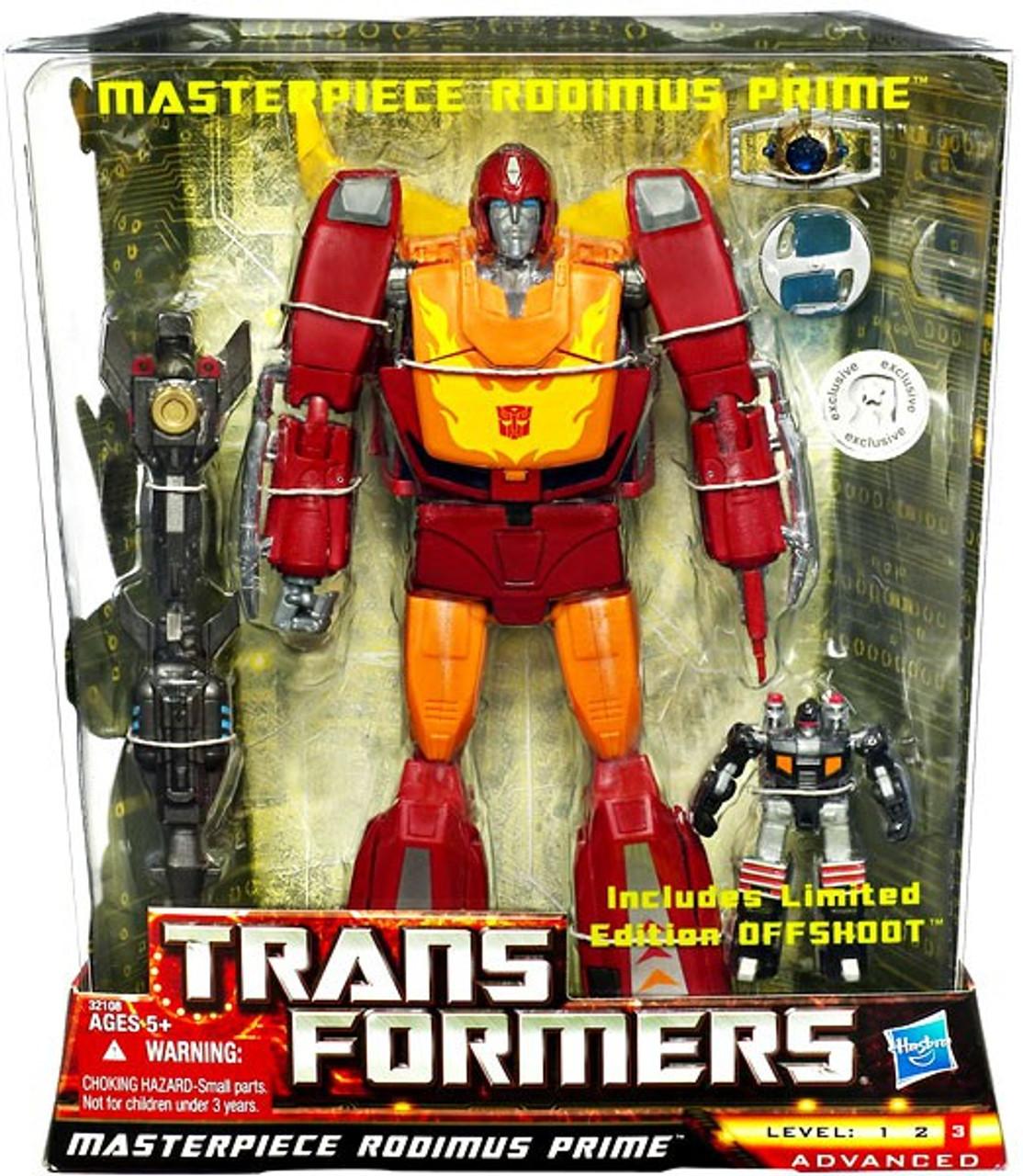 Transformers Universe Masterpiece Rodimus Prime Exclusive Deluxe Action Figure