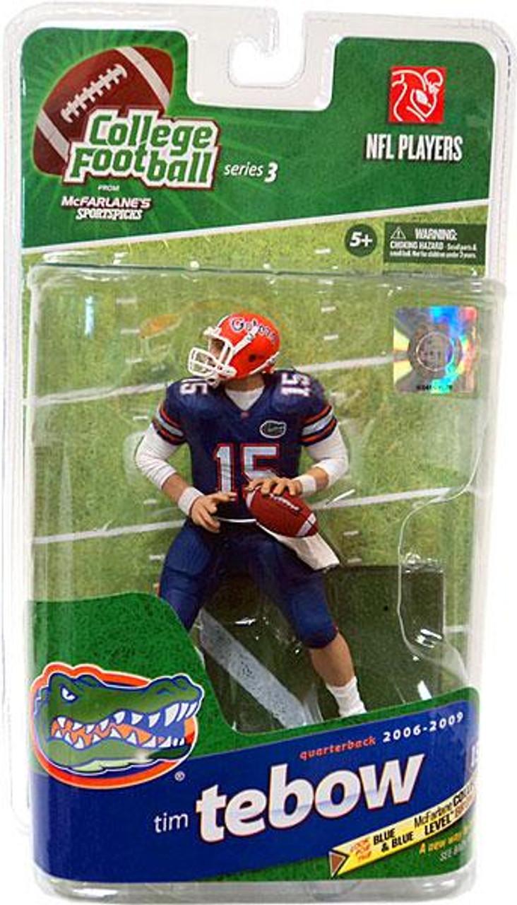 McFarlane Toys NCAA College Football Sports Picks Series 3 Tim Tebow Action Figure [Blue Pants]