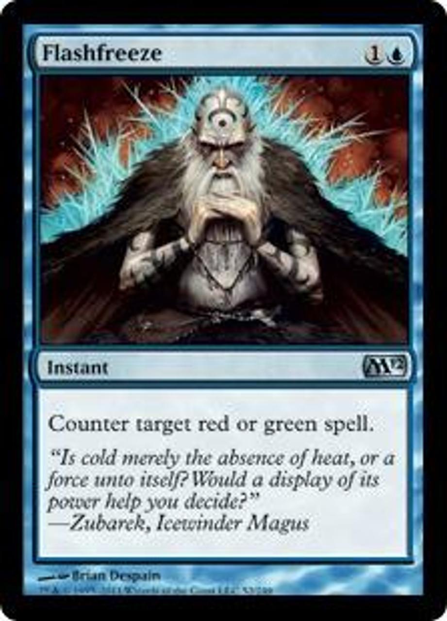 MtG Magic 2012 Uncommon Flashfreeze #52